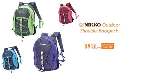 Nikko Outdoor Shoulder Backpack