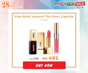 YVES SAINT LAURENT The Stars Lip Trio 3 tubes