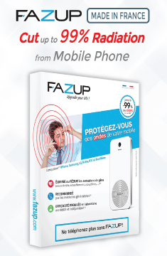 FAZUP Anti-Radiation Patch for Mobile Phones France x2s