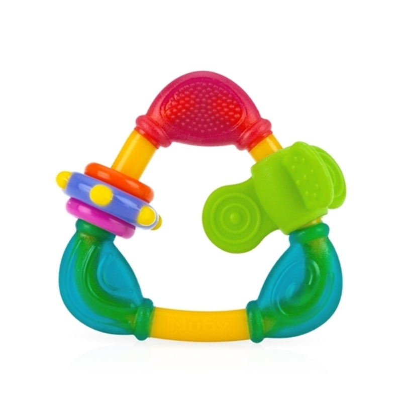 Nuby Triangle Teether with TPE (1pc)