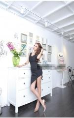 Sexy CrossBack Dress (Black)
