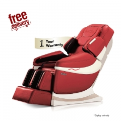 *MYCYBERSALE* GINTELL DeAero Touch Massage Chair (Red)- Showroom Unit