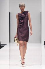 Designer Purple party dress