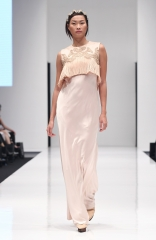 Designer Dusty pink gown