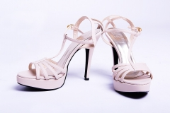 Model High Heel shoes Nude 5 inches – platform shoes for women Nude 5