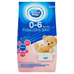 Dutch Baby Powder Infant Formula 0-6 Months (650g)