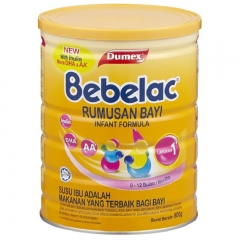 Bebelac Infant Formula Step 1 (800g)