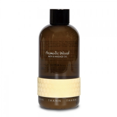 Thann Aromatic Wood Bath and Massage Oil - 295ml