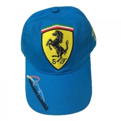 Scuderia Ferrari Fernando Alonso Kids Caps (Blue)