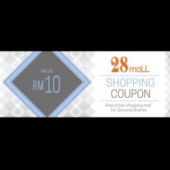 RM10 Shopping Voucher @ 28Mall.com