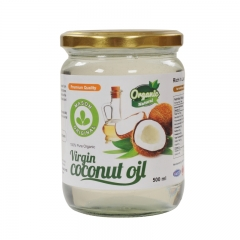 Malaysia Cold Pressed Organic Virgin Coconut Oil  VCO - 500ml