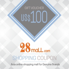 US$100 Shopping Voucher @ 28Mall