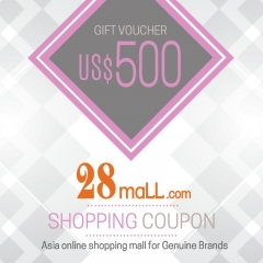 US$500 Shopping Voucher @ 28Mall