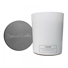 Essencial Candles Lavender Aromatherapy Candle 180g