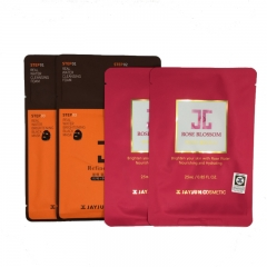 JAYJUN Rose Blossom Mask 2 pcs + Real Water Brightening Black Mask 2 pcs