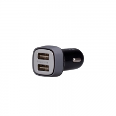 Momax Polar Light UC4 Car Charger - UC4 Black