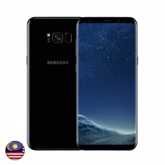 Samsung S8 Plus 128GB Midnight Black - Malaysia