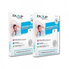 FAZUP Anti-Radiation Patch for Mobile Phones France - Set of 2