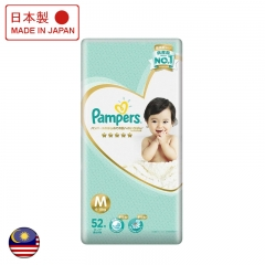 Pampers Ichiban Taped Medium 52's Msia