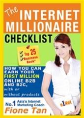 The Internet Marketing Millionaire Checklist