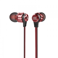 JBL Harman  Stereo Wired in Ear Earphone Microphone T180A - Red