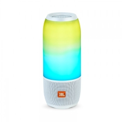 JBL Pulse 3 Lightshow Portable Waterproof Bluetooth Speaker - White
