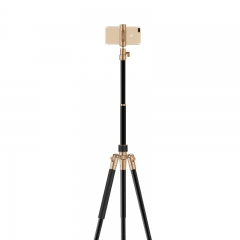Momax Tripod Pro6 Stable & Sturdy for Selfie and Live Broadcast  Rose Gold