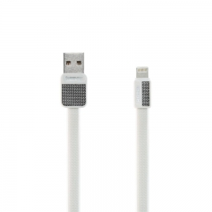 Remax Metal Cable For Lightning IOS RC-044i White
