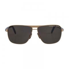 Porsche Design Male Gold/Blue P8639B Sunglasses