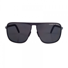 Porsche Design Male Square Blue/Grey P8641C Sunglasses