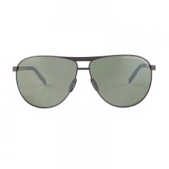 Porsche Design Male Silver Aviator P8642C Sunglasses