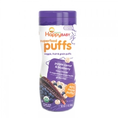 Happy Baby - Happy Puffs Purple Carrot & Blueberry
