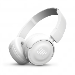 JBL T450BT Wireless On-ear Headphones (White)