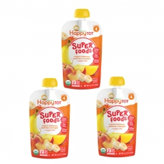 Happy Baby - Happy Tot Organic Organic Bananas, Peaches & Mangos 3 packs