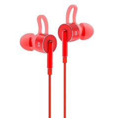 Bach Audio Power Up Earphone EM05 - Red 11.11