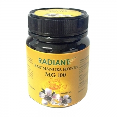 Radiant Raw Manuka Honey MG 100 Natural 340G