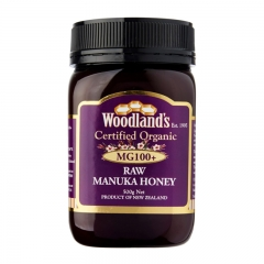 Woodland's Organic Manuka Honey MG 100 500G