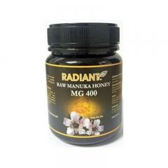 Radiant Raw Manuka Honey MG 400 Natural 340G
