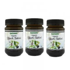 Radiant Organic Black Tahini 375g x 3
