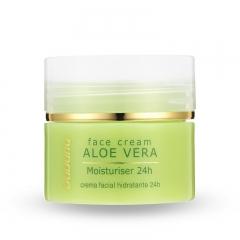 Babaria Natural Aloe Vera 24hr Moisturising Face Cream