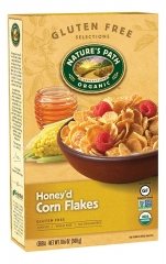 Nature's Path Honey'd Corn Flakes (Gluten Free) 300g (Pack of 12)