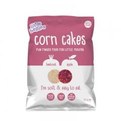 little bellies Corn Cakes Beetroot & Apple