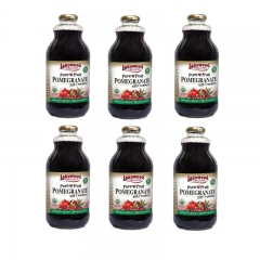 Lakewood Organic Pomegranate with Cranberry 32oz 6 bottles 32OZ