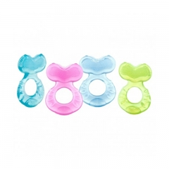 Nuby Comfort Silicone Fish Shaped Teether