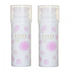 Kanebo Evita Rose Foam Beauty Whip Soap 150g x 2