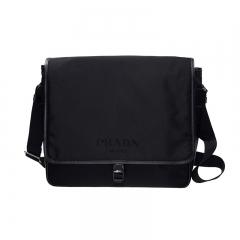 Prada V158_064_F0002 Nylon Black Prada Bag