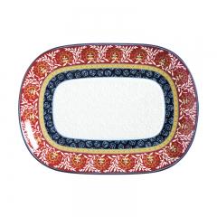 Maxwell & Wlliams Boho Oblong Platter 45x33cm Gift Boxed