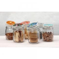 Maxwell & Wlliams Morris Set of 6 Storage Jars 750ML Gift Boxed