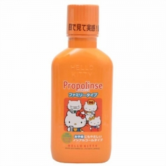 Japan Propolinse Mouth Wash Oral care rinse 400ml - Hello Kitty