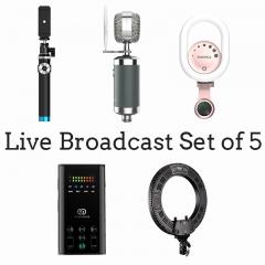 Live Broadcast Set(Set of 5)